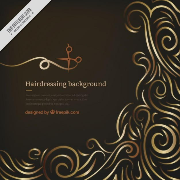 Hairdresser background