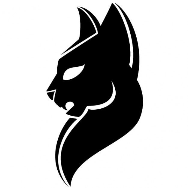 black head of puma illustration vector free download rh freepik com puma free vector logo puma vector gratis