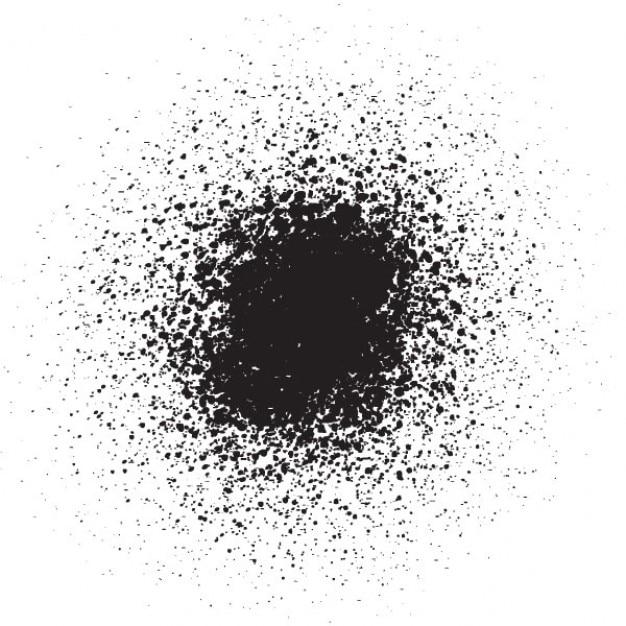 Black ink grunge texture Vector | Free Download