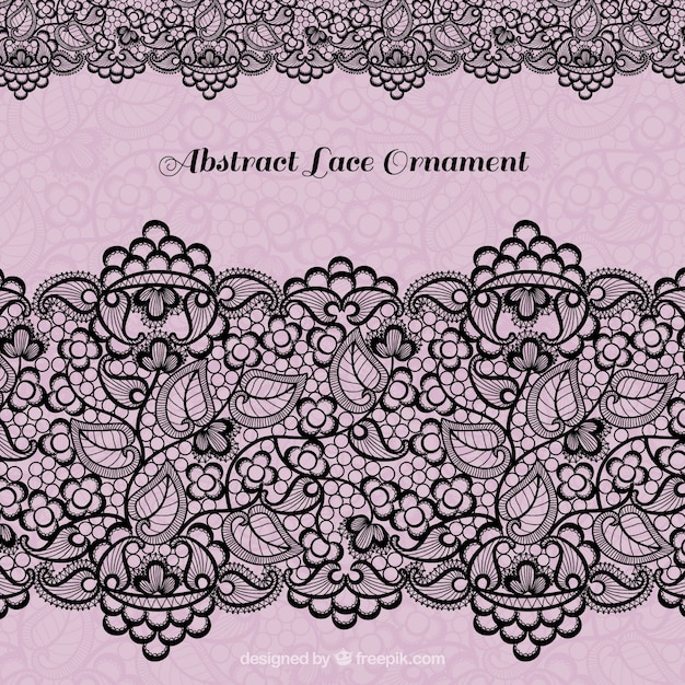 Black lace decoration vector free download black lace decoration free vector stopboris Choice Image