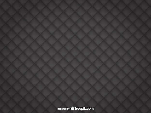 Black leather upholstery background Free Vector