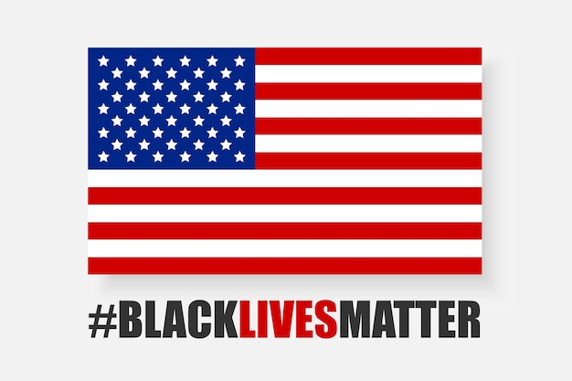 Black lives matter Premium Vector