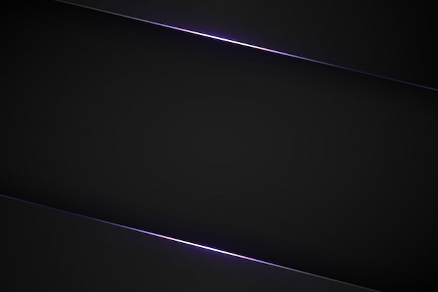 Black modern background. Premium Vector