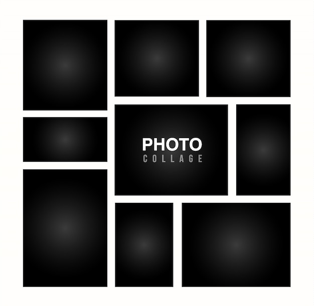 Photo Collage Template Free Vectors Stock Photos Psd