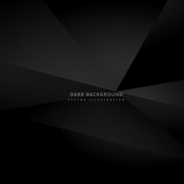 Black polygonal background Vector | Free Download - photo #24