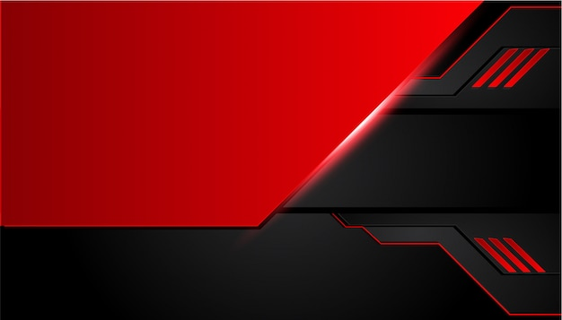 Black And Red >> Black And Red Metal Background Vector Premium Download