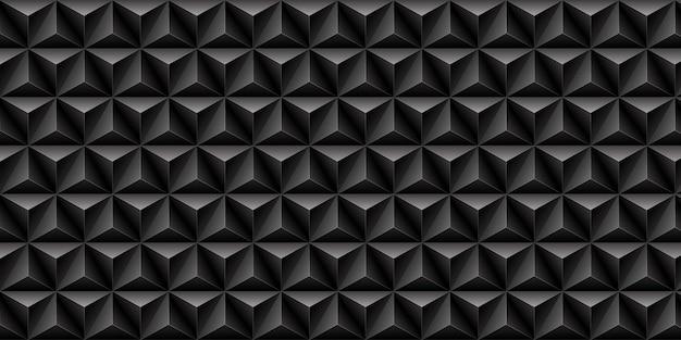 Черный треугольник узор фона. Premium векторы