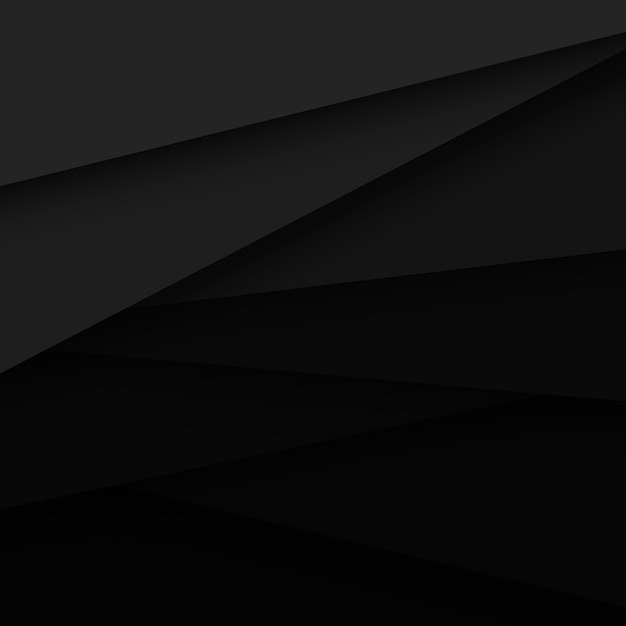 Black vector abstract background Free Vector