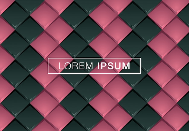 Black vector geometric background Premium Vector