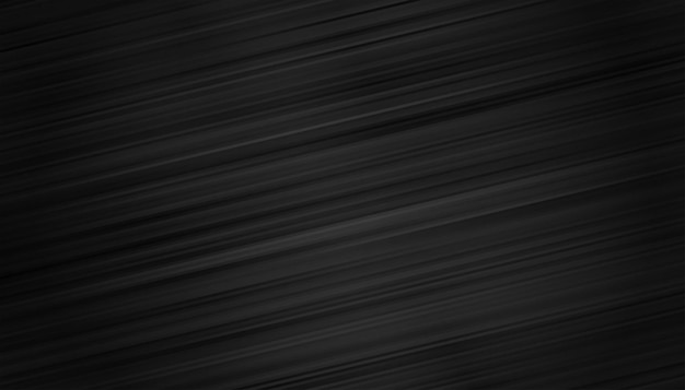 Black wallpaper with motion lines background Free Vector