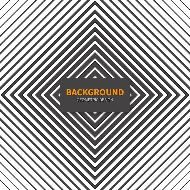 Black and white abstract background in modern design Free Vector
