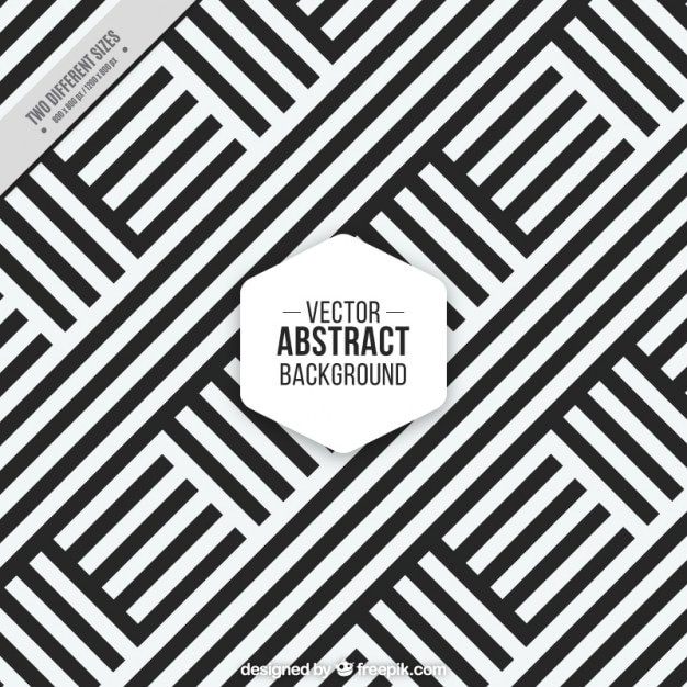 Black and white stripes background Free Vector