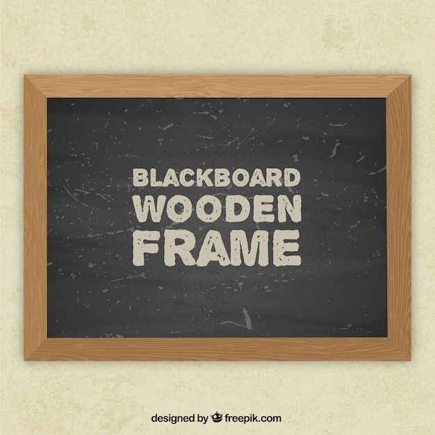 blackboard frame vector free download