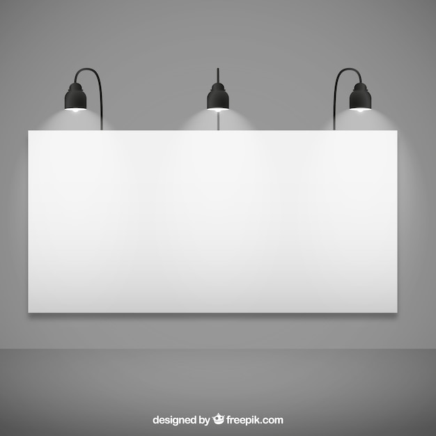 Blank billboard mockup Vector | Free Download