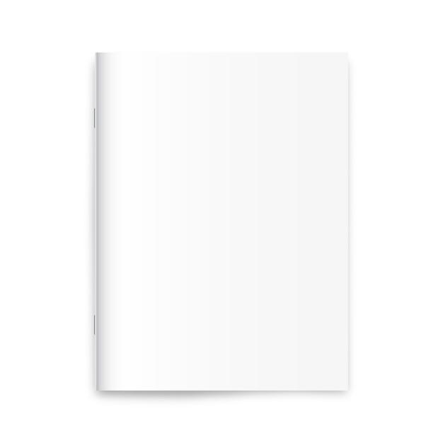 Blank magazine Premium Vector