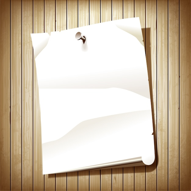 Blank Paper Design Vector Free Download