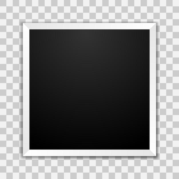 Blank photo frame Premium Vector