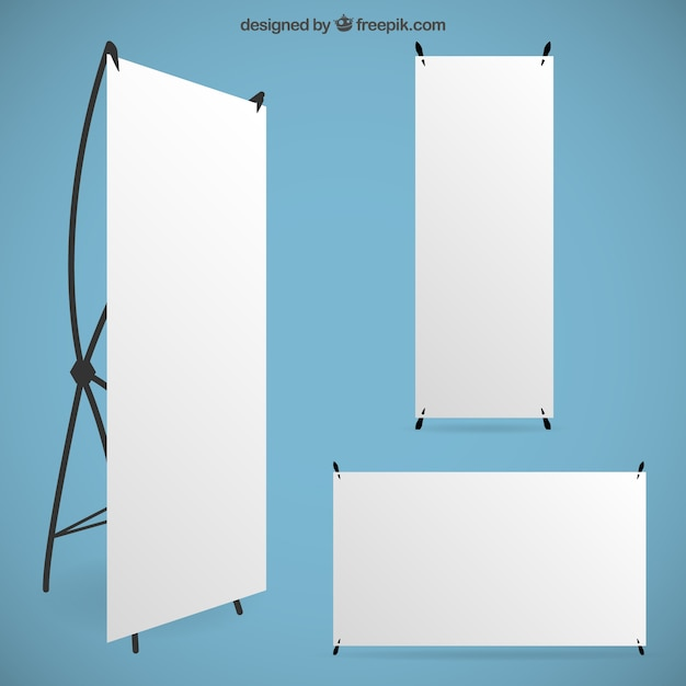 blank roll up banners vector free download. Black Bedroom Furniture Sets. Home Design Ideas