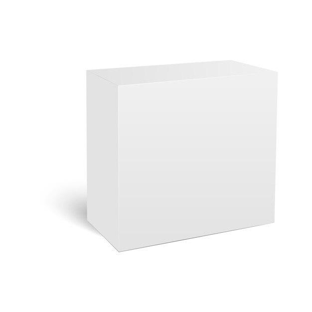 Blank vertical paper box template vector premium download blank vertical paper box template premium vector maxwellsz