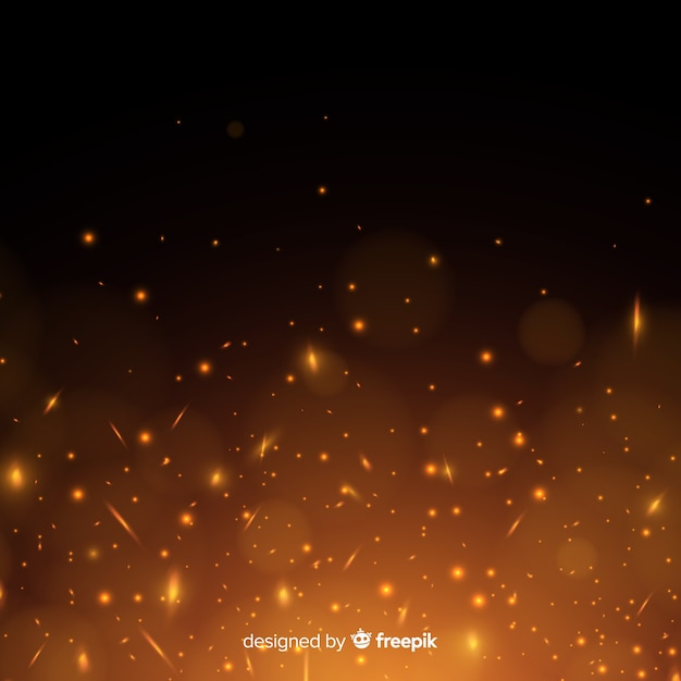 Blazing background Free Vector