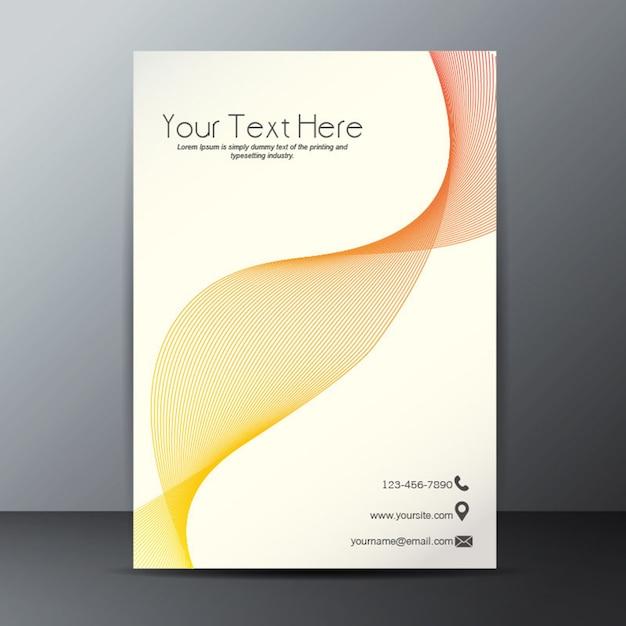 Blending effect neon poster template Premium Vector