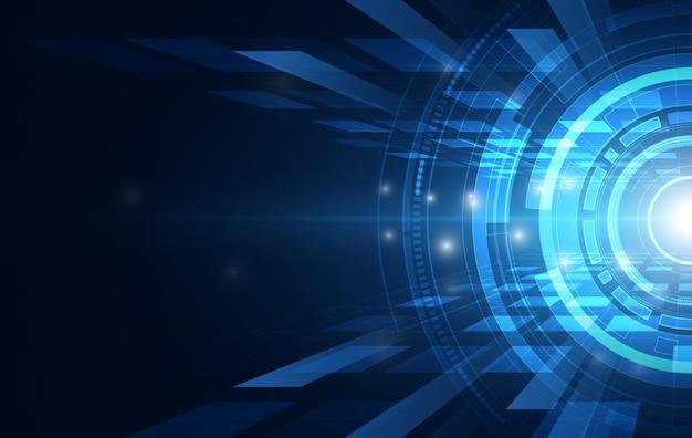 Технология блокчейн с глобальной концепцией подключения, подходящая для финансовых инвестиций или бизнеса в сфере криптовалют Premium векторы