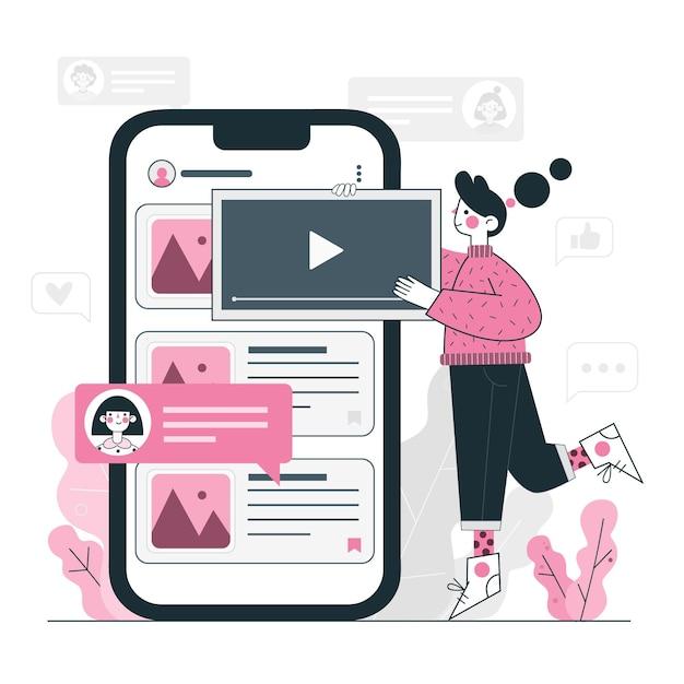 Promovează aplicația mobilă folosind materiale video
