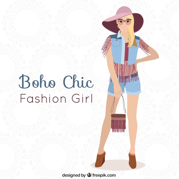 Was Ist Boho boho chic vector free