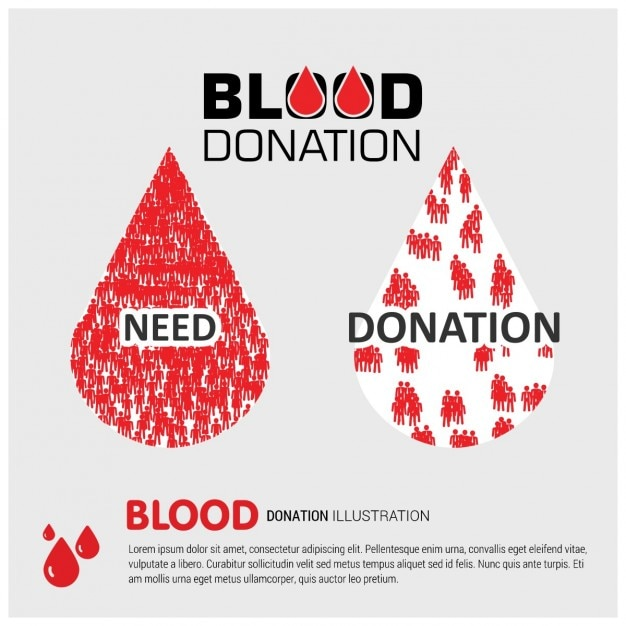 Blood donation awareness background vector free download blood donation awareness background free vector thecheapjerseys Gallery