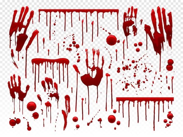 Blood drip Premium Vector