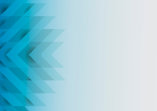 Blue 3d Modern Background Design Vector