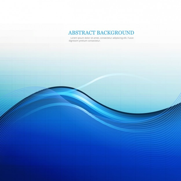 Blue abstract background Vector | Free Download