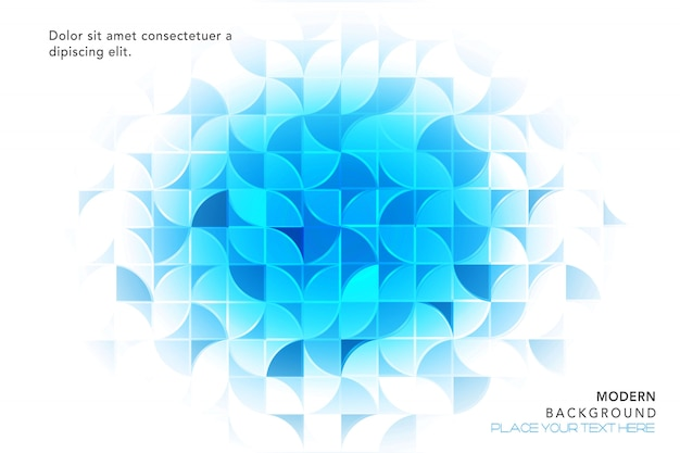 Blue abstract background Free Vector