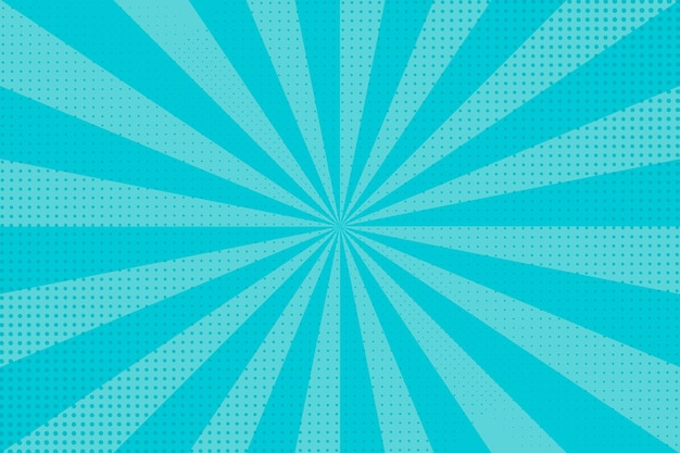 Blue abstract halftone background Free Vector