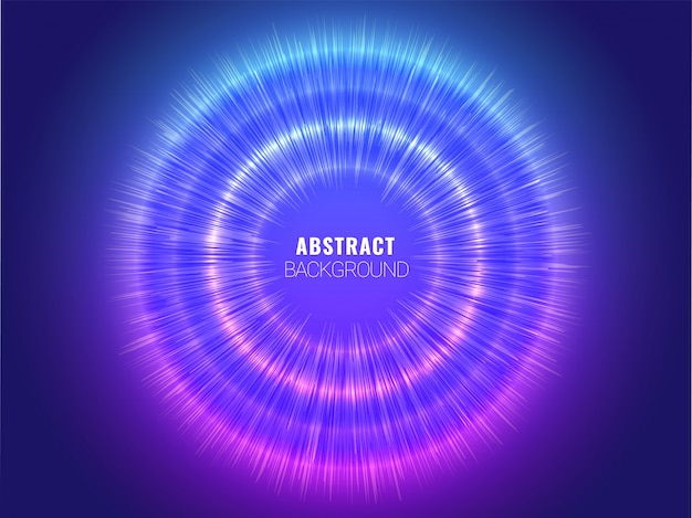 Blue abstract hud and circuit futuristic digital technology background Premium Vector