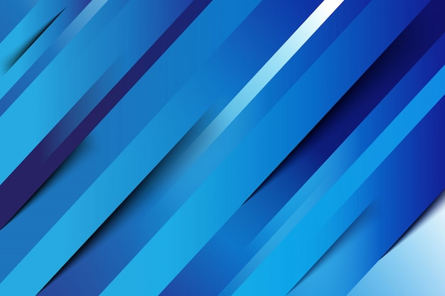 Blue abstract line background Free Vector