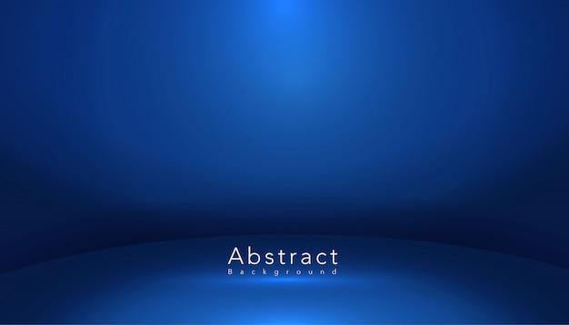 ブルー抽象的な形のスタジオルーム 無料ベクター