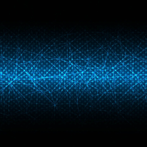 blue and black technological background vector free download