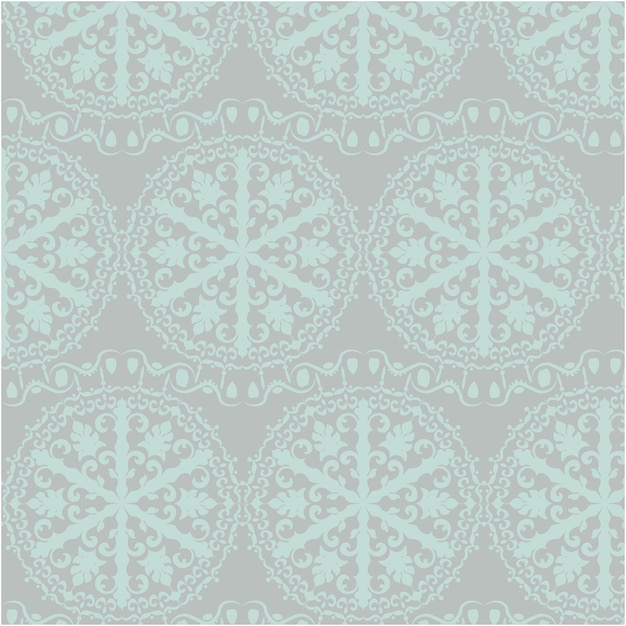 Blue and grey ornamental pattern background