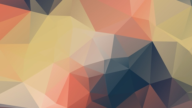 Blue And Pink Soft Color Polygon Background Design Abstract Geometric Origami Style Premium Vector