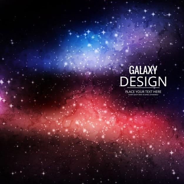 Download Vector Blue Galaxy Background Vectorpicker