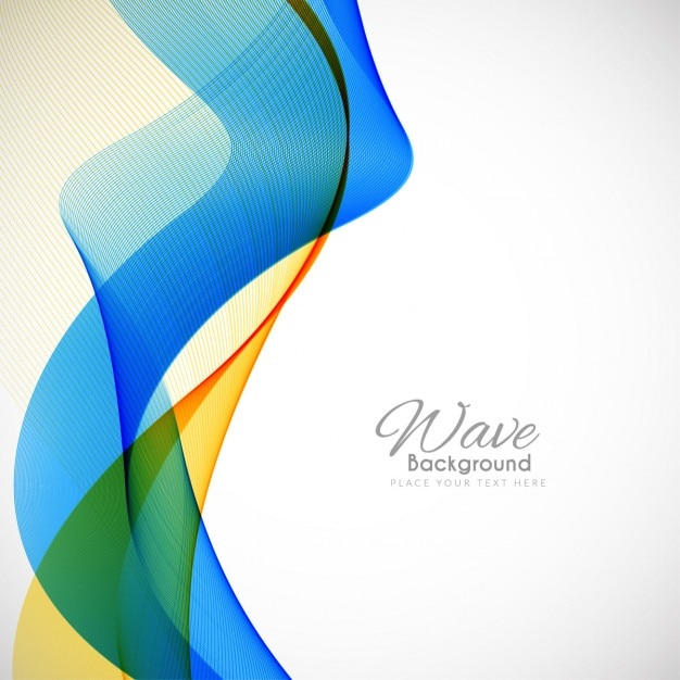 blue and yellow background with wavy shapes vector free download. Black Bedroom Furniture Sets. Home Design Ideas