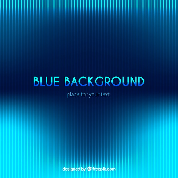 Blue background, technological style