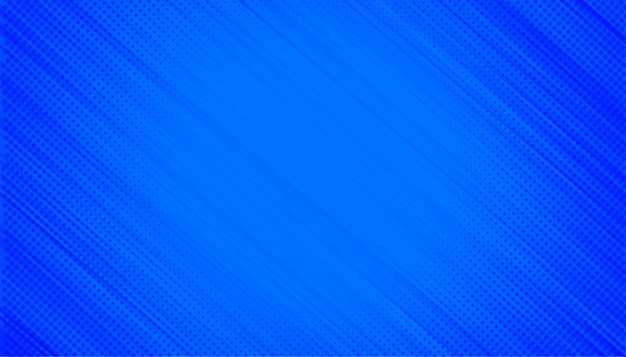 Sfondo blu con linee diagonali di mezzitoni Vettore gratuito