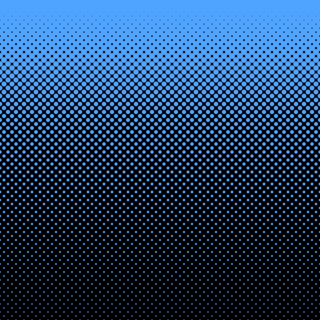 Blue and black dots background Free Vector