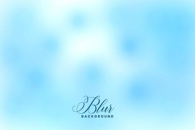 Blue blurred bokeh effect elegant background design Free Vector