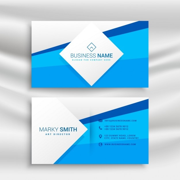 Blue corporate business card template vector free download blue corporate business card template free vector accmission Choice Image