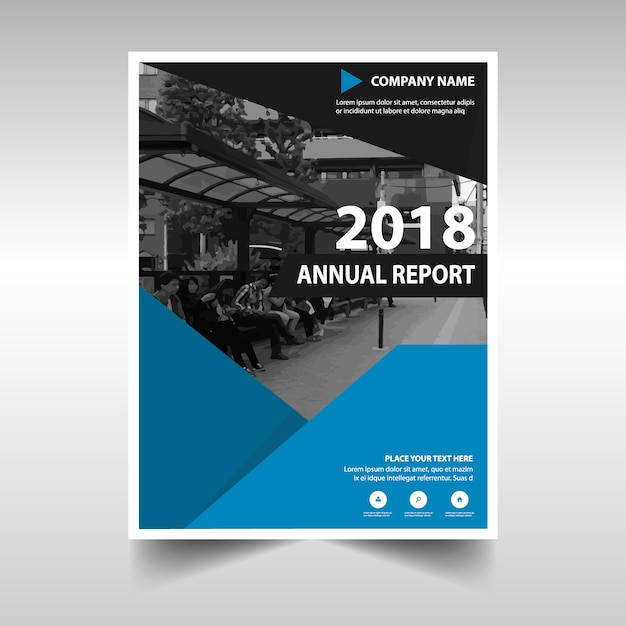 Creative Book Report Covers : Annual report vectors photos and psd files free download
