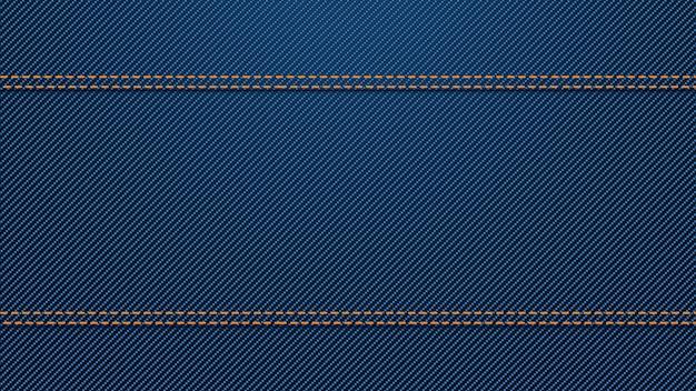 Blue denim background Premium Vector