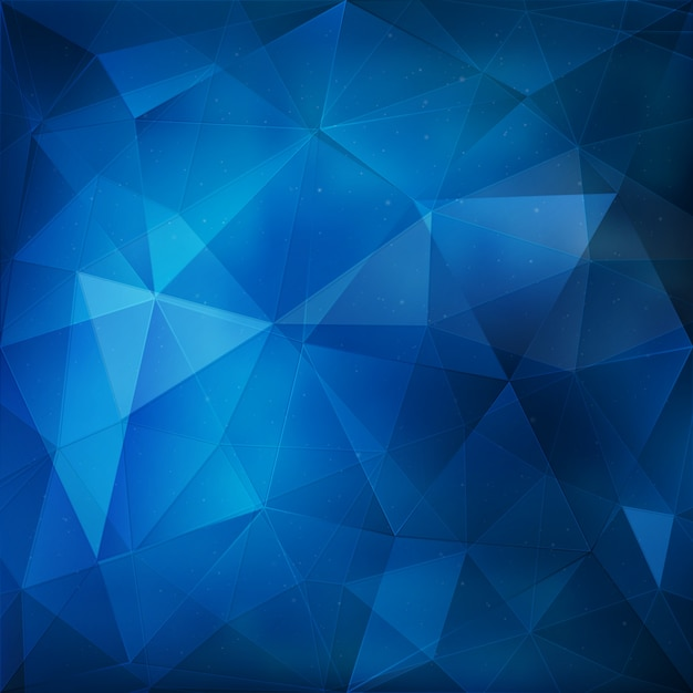 blue geometric background vector » 4K Pictures | 4K ...
